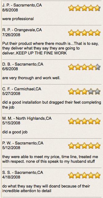 sacramento roofer reviews