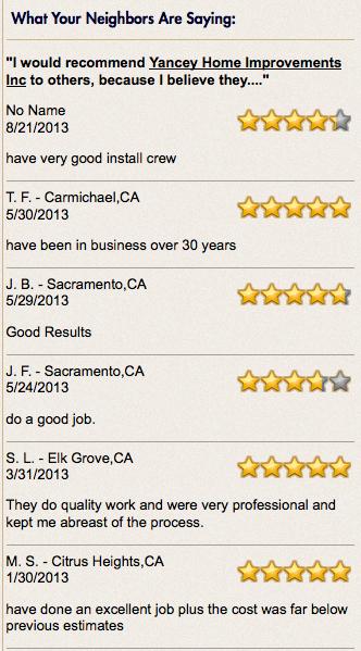 sacramento roofing reviews