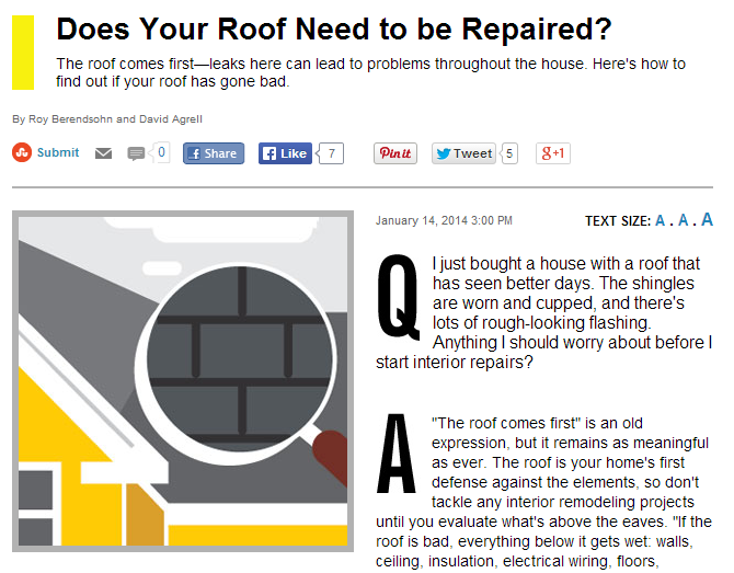 does your roof need to be repaired